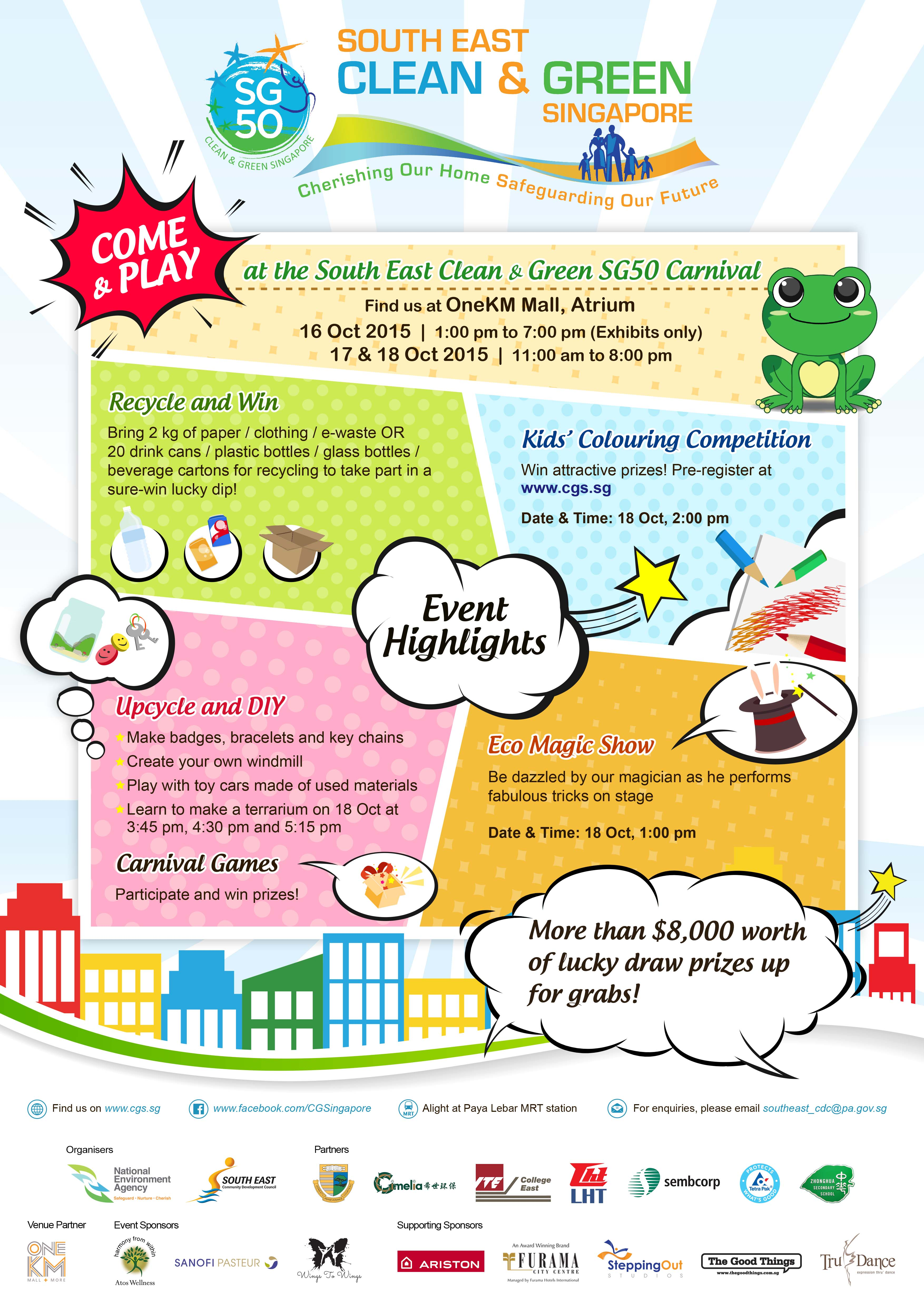 South East Clean and Green SG50 Carnival