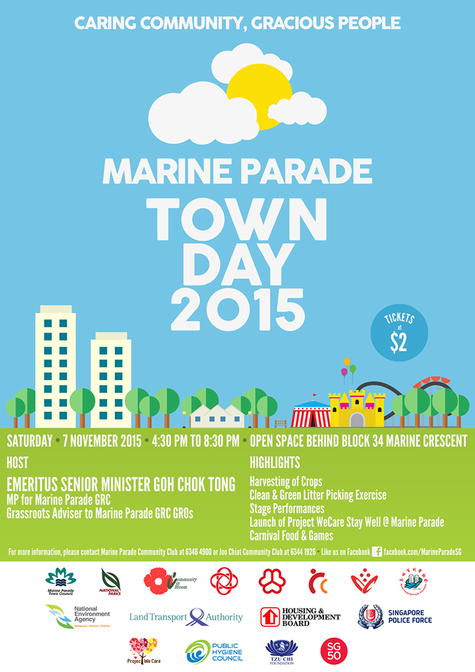 Marine Parade Town Day 2015